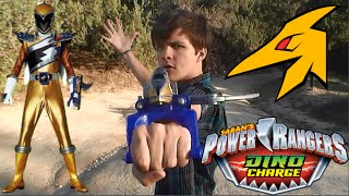 getlinkyoutube.com-Power Rangers Dino Charge Gold Morph