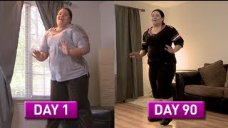 getlinkyoutube.com-Zumba Fitness Rush 90 Day Challenge: Daisy's Story