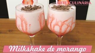 getlinkyoutube.com-Milkshake de morango