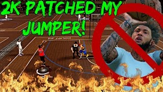 getlinkyoutube.com-DID 2K PATCH MY OP JUMPSHOT? | HALF COURT GAME WINNER! TOP 5 UNGUARDABLE! - NBA 2k17 MyPark