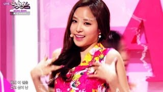 getlinkyoutube.com-1st Week of April & Apink - Mr.Chu (2014.04.04) [Music Bank K-Chart]