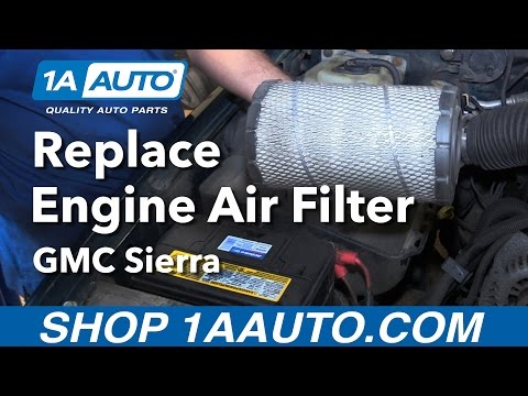 How to Replace Air Filter Engine Air Filter 88-98 GMC Sierra