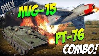 getlinkyoutube.com-PT-76 AMPHIBIOUS TANK (soon™) War Thunder Tanks Gameplay!