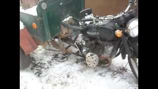 getlinkyoutube.com-Самодельный Мотороллер (трицикл).(часть 1.(история построения и модернизации))