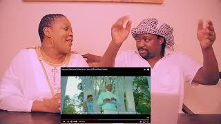 Diamond Platnumz Ft Rayvanny - Iyena (Official Music Video)||REACTION