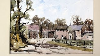 getlinkyoutube.com-How to paint a loose farm scene with Alan Owen