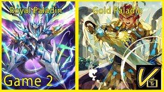 getlinkyoutube.com-Vongola Summer Circuit - Royal Paladin Sanctuary Guard Vs Gold Paladin Stride Game 2