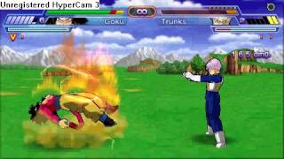getlinkyoutube.com-Todos Los Personajes-Dragon Ball  Z Another Road PSP