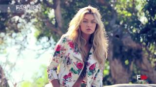 getlinkyoutube.com-GIGI for GUESS Backstage ADV Campaign Spring 2015 by Fashion Channel