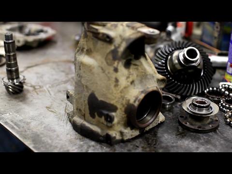 Ремонт заднего редуктора BMW E90 325