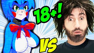getlinkyoutube.com-FIVE NIGHTS IN ANIME vs The World's Worst Gamer!