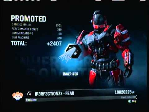 Halo Reach - I'm an Inheritor