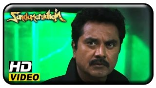 getlinkyoutube.com-Sandamarutham Tamil Movie - Full Fight Part 2 | Sarath Kumar | Oviya | Meera Nandan
