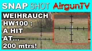 getlinkyoutube.com-200 metre shooting with a Weihrauch HW100