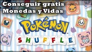 getlinkyoutube.com-Canjear gratis Joyas para Vidas y Monedas en Pokémon Shuffle 3DS