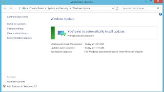 getlinkyoutube.com-Solving Windows 8.1: Windows Update Error Code 8024402F
