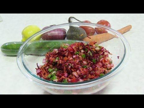 Kachumber - Indian Salad