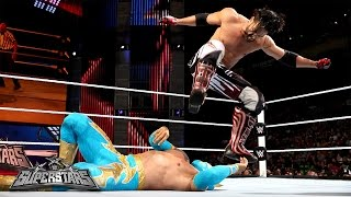 getlinkyoutube.com-Sin Cara vs. Justin Gabriel: WWE Superstars, Sept. 11, 2014