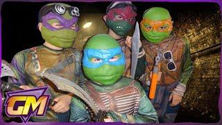 getlinkyoutube.com-Teenage Mutant Ninja Turtles Parody: Kids short film version