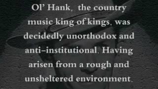 getlinkyoutube.com-Hank Williams Sr Tribute: Lost Highway
