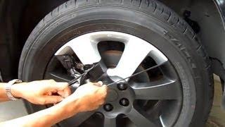 getlinkyoutube.com-Armor all رش وقشر جنوط - طريقه مبتكرة لرش اللون الاسود الطافي عجلات