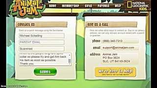 getlinkyoutube.com-How to get Long black spike collar free Animal jam