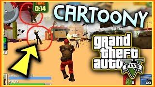 getlinkyoutube.com-CARTOON GTA V! (GTA 5) | 3D Crime City 2 - Gameplay!