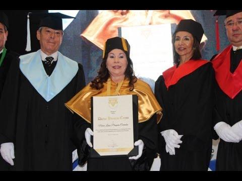 Doctorado Honoris Causa, María Luisa Piraquive, YMCA