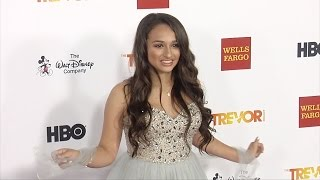 "Jazz Jennings on the red carpet ""TrevorLIVE LA 2015"""