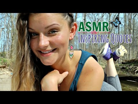 ASMR 73 Inspirational Quotes (In USA 🇺🇸)