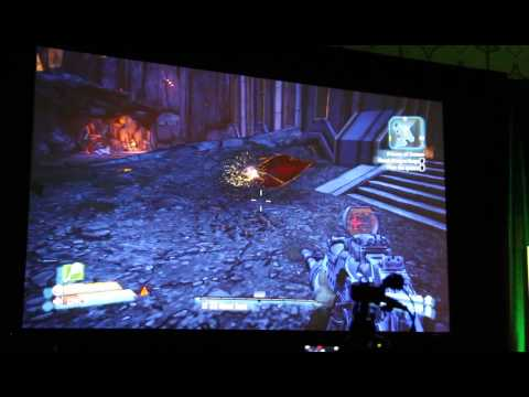 In-game footage from upcoming Borderlands 2 DLC at E3