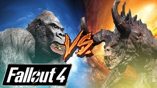 Fallout Battle Arena | Gorilla VS DeathClaw | Fallout Fight