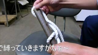 getlinkyoutube.com-ロープの縛り方(クローブ・ヒッチ)