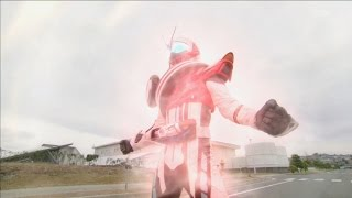 getlinkyoutube.com-Kamen rider Mach type Deadheat first henshin & finish