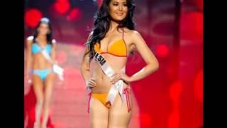 getlinkyoutube.com-foto seksi maria selena pakai bikini mantan miss indonesia