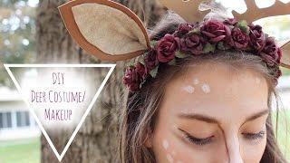 getlinkyoutube.com-Last minute DIY Deer Costume