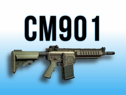 MW3 In Depth - CM901 Assault Rifle