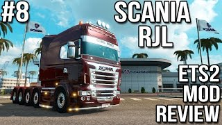 getlinkyoutube.com-ETS2 Mod Reviews #8 - RJL Scania Tuning Pack