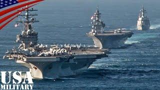 getlinkyoutube.com-護衛艦「いずも」・「てるづき」と米空母「ロナルド・レーガン」が自衛隊観艦式後に記念撮影 - USS Ronald Reagan & JS Izumo, Teruzuki at Tokyo Bay