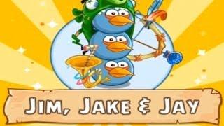 Angry Birds Epic RPG - Part 4, Jim, Jake & Jay [Walkthrough] Gameplay