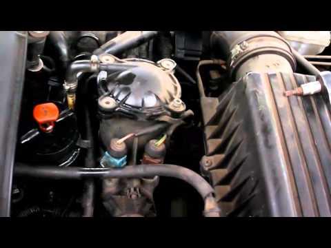 Peugeot 406 Замена топливного фильтра