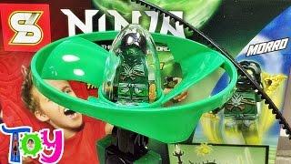getlinkyoutube.com-SY 닌자고 에어짓주 모로 70743 레고 짝퉁 하늘을 나는 헬리콥터 문방구 장난감 조립 리뷰 Lego knockoff ninjago Airjitzu morro Flyer