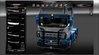 getlinkyoutube.com-Euro Truck 2 Simulator [Scania V8 Truck Customization]