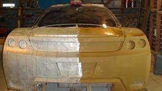 getlinkyoutube.com-How to make a Concept Car with Clay sculpting DIY - The real Fast and Furious - JZ COBRA