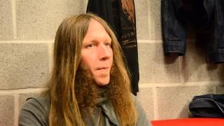 getlinkyoutube.com-CHARLIE STARR (BLACKBERRY SMOKE) interview - Leuven 29/10/14