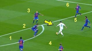 Cristiano Ronaldo DESTROYING Barcelona   Skills, Dribbles, Goals