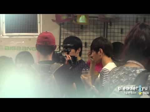[Fancam] 110614 Seongyeol & L @Sesami Player2 Recording