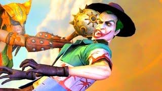 getlinkyoutube.com-Injustice Gods Among Us All Super Moves on The Joker Tourist Costume PC 4k UHD 2160p