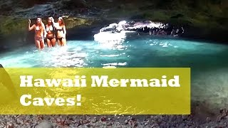 getlinkyoutube.com-Hawaii's Mermaid Caves! - Oahu, HI