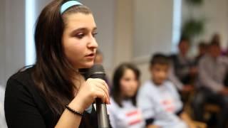 Activitate de tineret: În drum spre Parlament